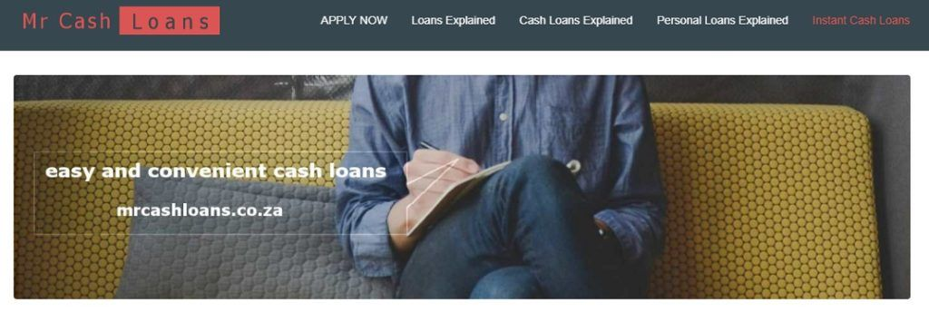Quick personal loans South Africa — Mr Cash Loans